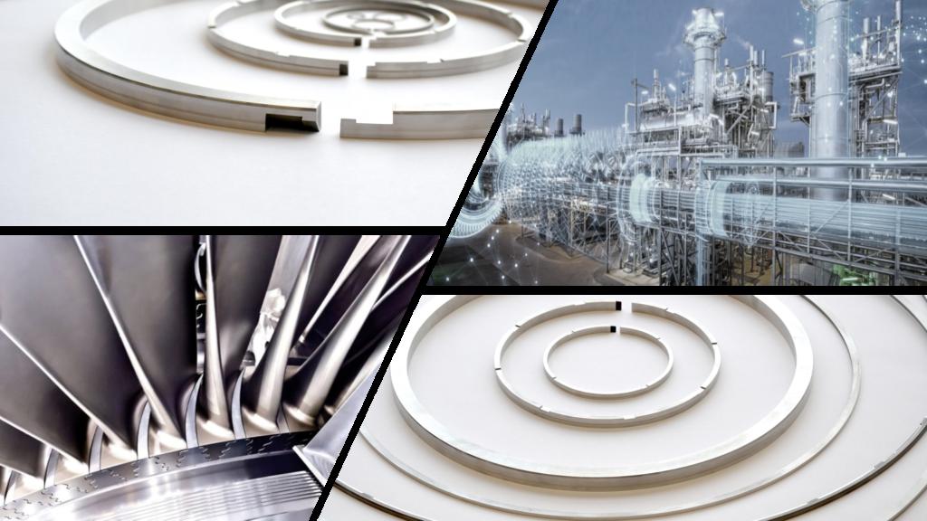Sealing rings aerospace power generation