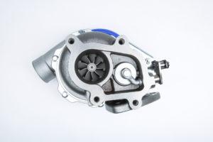 Turbocharger Showing Wastegate Actuator Shaft Sealing Application