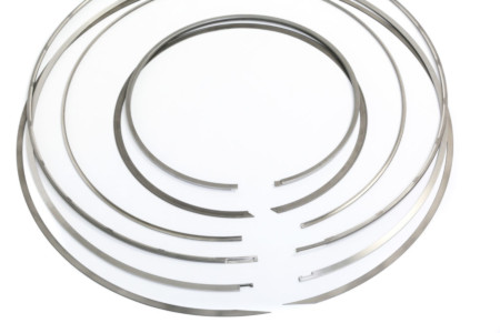 bespoke high temperature sealing rings showing gap designs